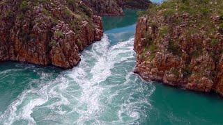 The WILDEST boating scene you'll ever see (Horizontal Falls  The Kimberley, WA)
