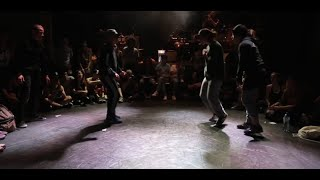 IBE 2014 | 2 on 2 Bgirl Battle Semi-Final | Leila & Kelly Vs. Zana & Short Bread