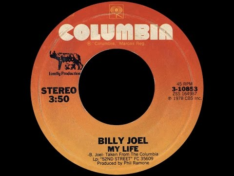 Billy Joel ~ My Life 1978 Disco Purrfection Version
