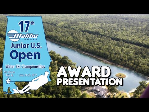 2017 Malibu Boats U.S. Junior Open: Award Presentation