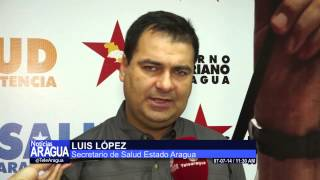 Corposalud realiza plan quirúrgico en municipio Santiago Mariño. 07/07/2014