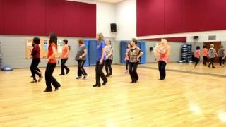 Amarillo By Morning - Line Dance (Dance & Teach in English & 中文)