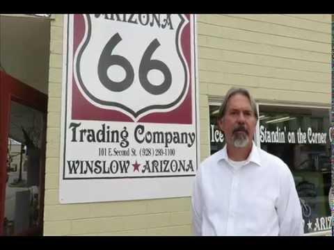 Route 66 National Motor Tour at Arizona 66 Trading Company