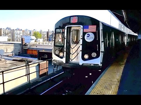 New York City Subway Trains, MTA Public Transportation in NYC