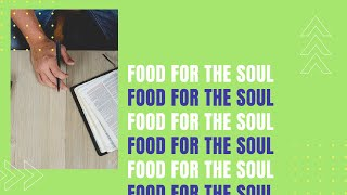Food For the Soul with Pastor Rich - 4/24/2020