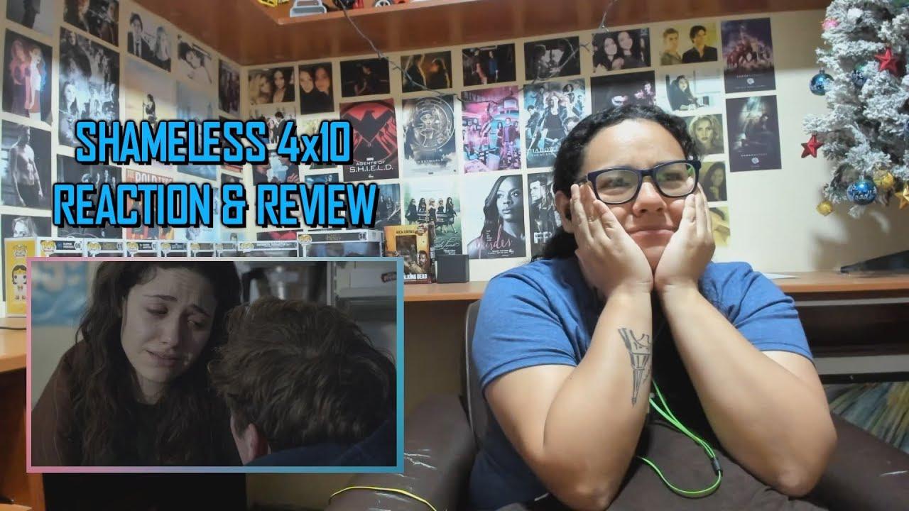 "Download Shameless 4x10 REACTION & REVIEW ""Liver, I Hardly Know Her"" S04E10 | JuliDG"
