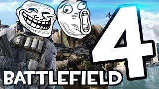 Battlefield 4 - Troll,phá phách, quẩy xe, đập bọn khựa,...