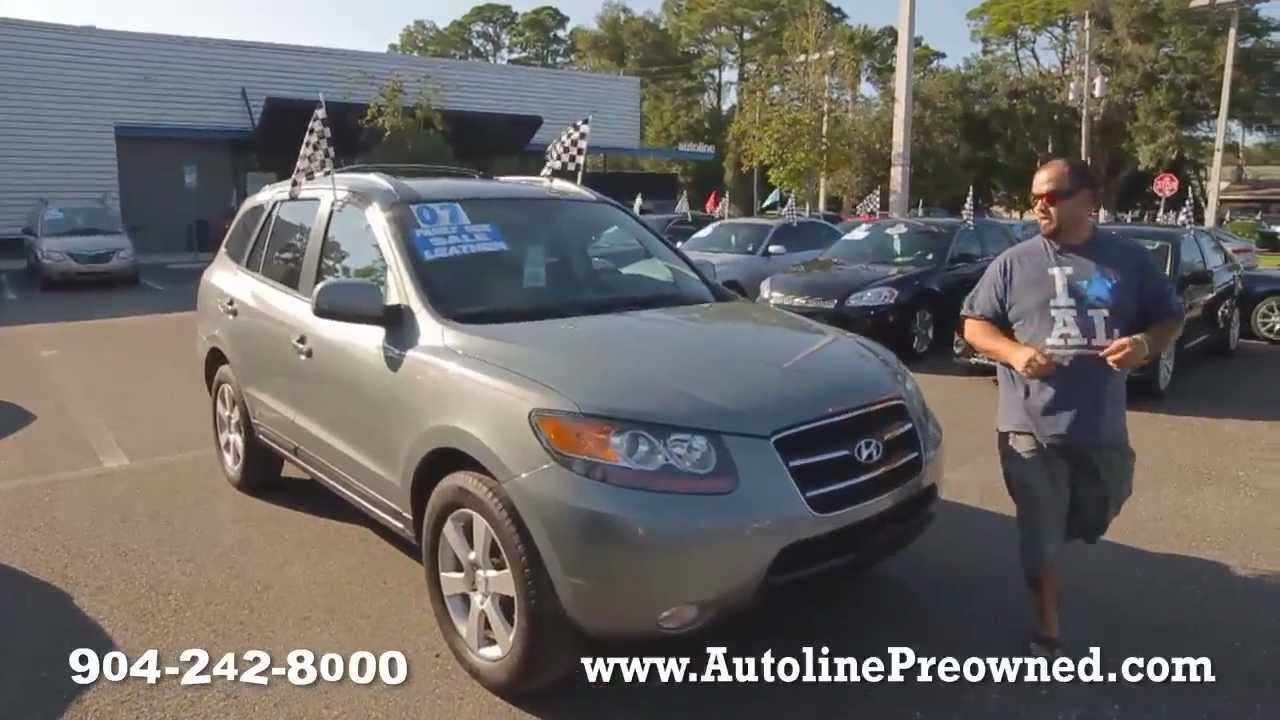 Autolineu0027s 2007 Hyundai Santa Fe Limited Walk Around Review Test Drive