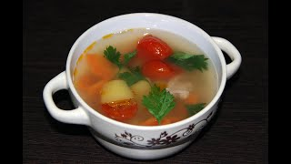 Суп из тунца. Очень вкусно и быстро