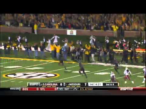 10/26/2013 South Carolina vs Missouri Football Highlights