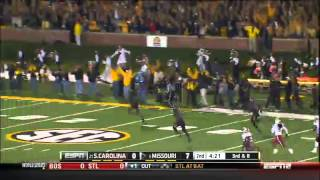 10/26/2013 South Carolina vs Missouri Football Highlights