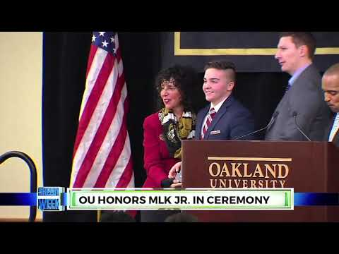 NEWS Martin Luther King Day Ceremony at Oakland University