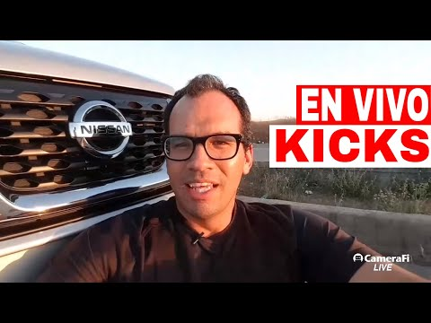 Nissan Kicks 2018 (En Vivo) Exterior Interior Manejo 0-100 Precio