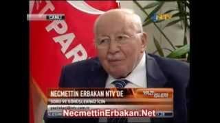 ERGENEKON Balon, İsrail'in Hedefi TSK!.. Erbakan Anlatıyor