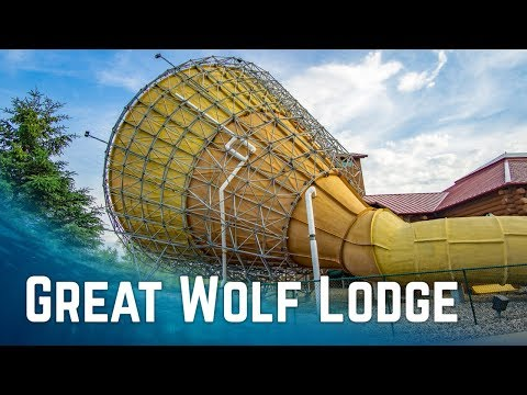 Awesome Water Slides at Great Wolf Lodge Wisconsin Dells, USA