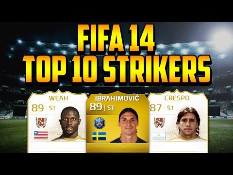 FIFA 14 TOP 10 STRIKERS!