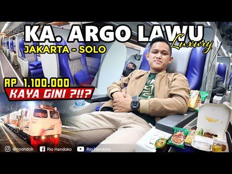 Rp. 1.100.000 KAYA GINI⁉️😱 | Perjalanan Jakarta - Solo Naik KA. ARGO LAWU LUXURY