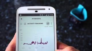 TomTom MySport APP - quick overview - data from TomTom Spark / Runner 2