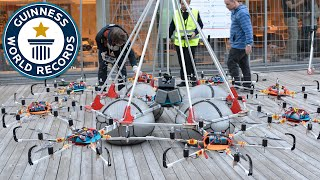 Drone Megacopter - Guinness World Records