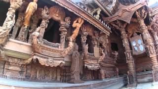 Храм Истины Паттайя Тайланд(, 2015-09-21T10:26:29.000Z)