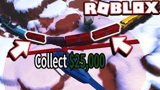 Jailbreak MythBusters-ROUBANDO o trem 2X + para MAX CASH!!! (Jailbreak de Roblox)