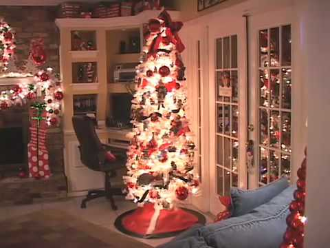 beautiful christmas decorations more free inspiration with music youtube - Christmas Decoration Video