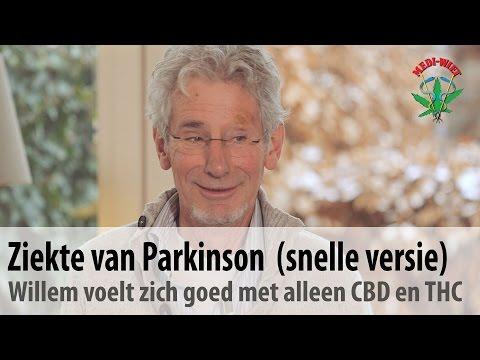 Ziekte van Parkinson (snelle versie) - Willem gebruikt alleen maar CBD en THC olie
