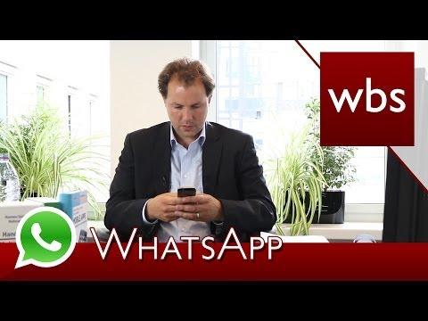 Hat WhatsApp Rechte