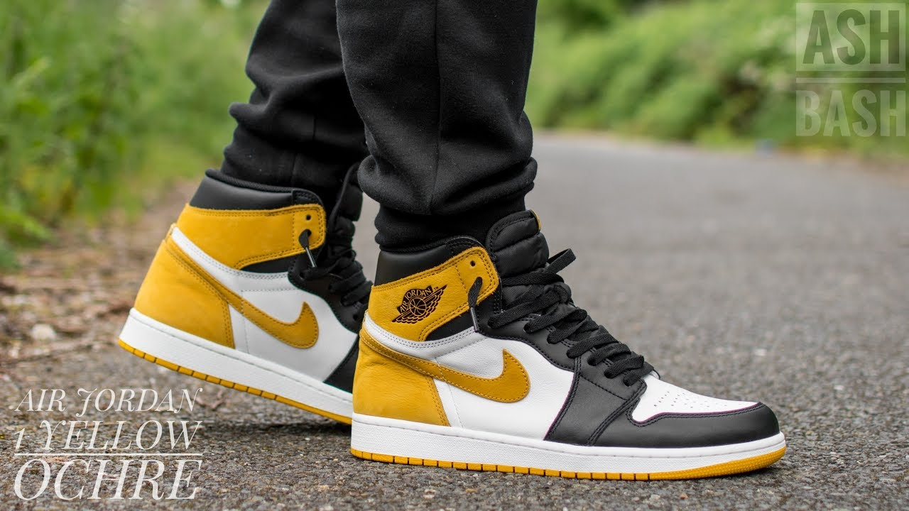 Check out the Jordan 1 Retro High Yellow Ochre available on