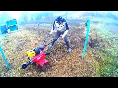 Motozappa su terreno vergine youtube for Motozappa youtube