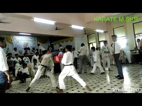 Karate fight at thane M.shb group