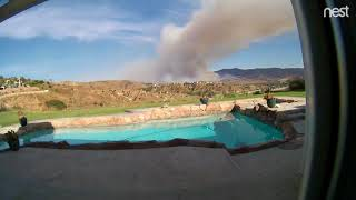Timelapse Video Shows Canyon Fire Growing in Corona, California