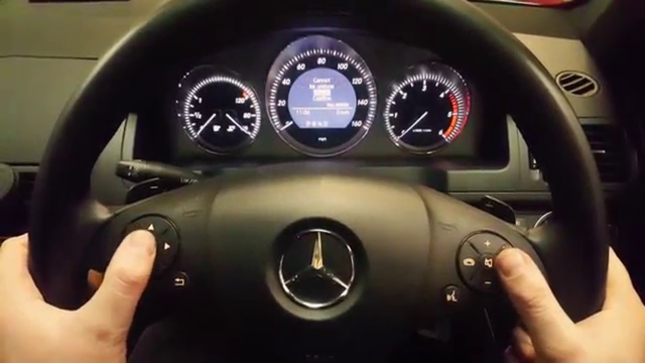 Mercedes c class service reset youtube for Mercedes benz financial services phone number