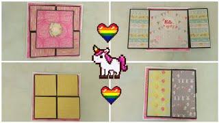 Flip Flap Photo Album tutorial/Cards for scrapbook/Scrapbook card idea/Photo album tutorial/Tutorial