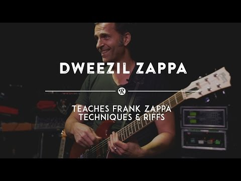 Dweezil Zappa Teaches Frank Zappa's Improvisation Techniques | Reverb Interview Mp3