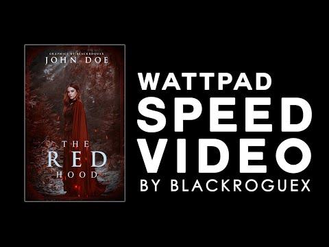 Red Hood   Wattpad Speed Cover