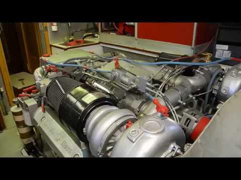 Rear end of a Detroit Diesel