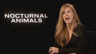 Nocturnal Animals: Amy Adams on 'twin' Isla Fisher & weird compliments