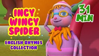 Incy Wincy Spider, Itsy Bitsy Spider and more Rhymes for Kids | Infobells