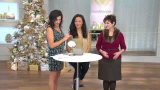 bareMinerals Catch the Light 6-pc Lipgloss & Crystal-Infused Eyecolor Set with Jane Treacy