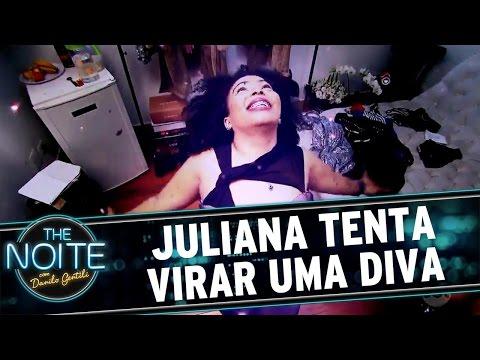 The Noite (21/10/16) - Juliana tenta virar uma diva