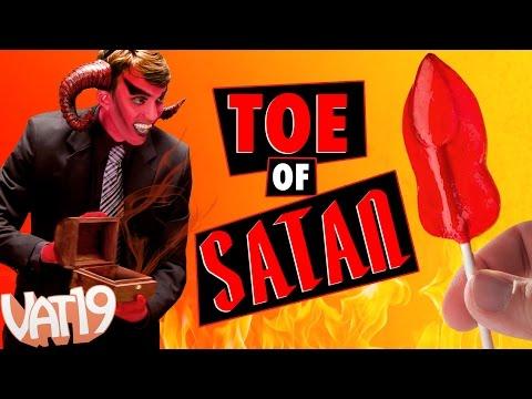 World's Spiciest Lollipop is The Toe of Satan