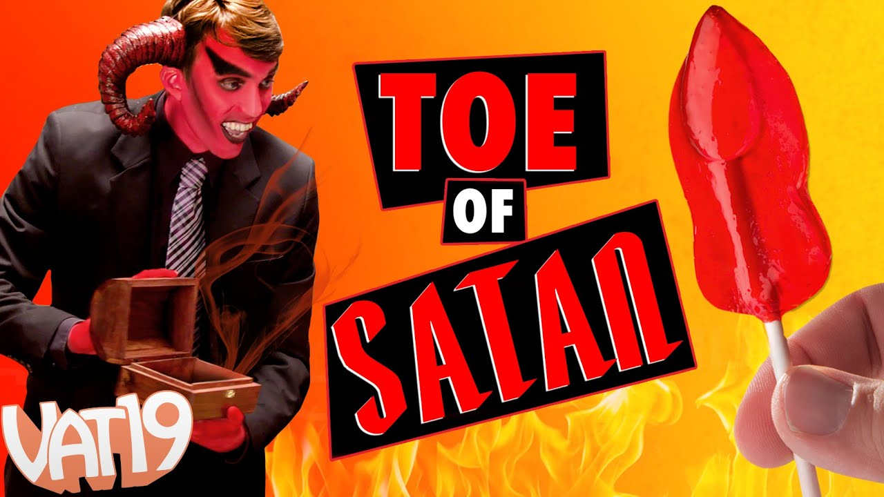 World's Spiciest Lollipop is The Toe of Satan