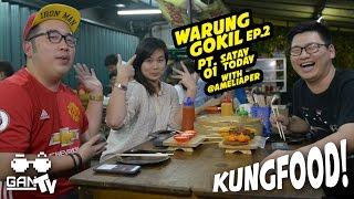 KUNGFOOD #19 WARGOK Ep. 2 PART 1 with @ameliaper (MUARA KARANG)