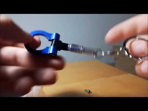 Tow Hook Shape Key Chain