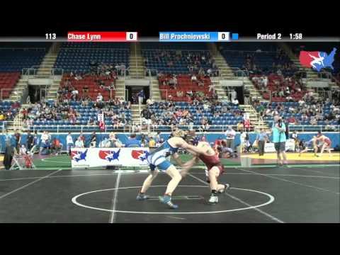 Fargo 2012 113 Round 2: Chase Lynn (Iowa) vs. Bill Prochniewski (Wisconsin)
