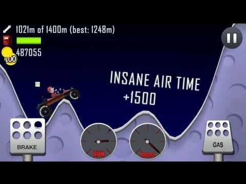 HILL CLIMB RACING - DUNE BUGGY MOON FARMING ($300k+ per run)