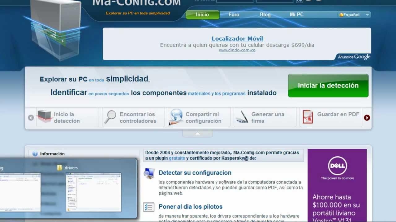 Como descargar los drivers para windows sin conexi n a for Paginas web para buscar piso
