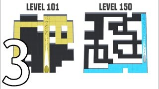 AMAZE!!! - Gameplay Walkthrough Part 3 - Levels 101-150 (iOS, Android)