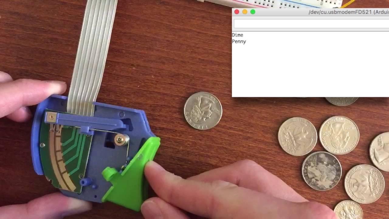 Diy coin slot mechanism games